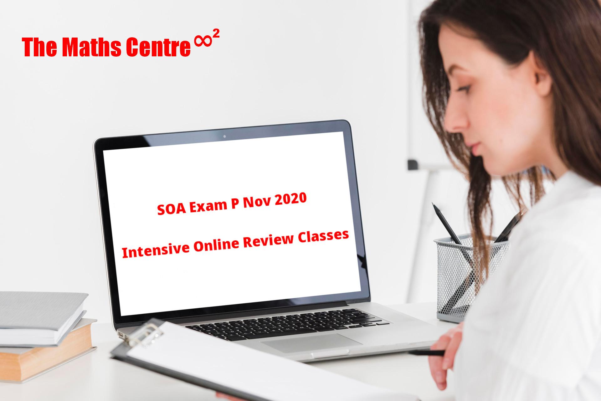 SOA Exam P Nov 2020